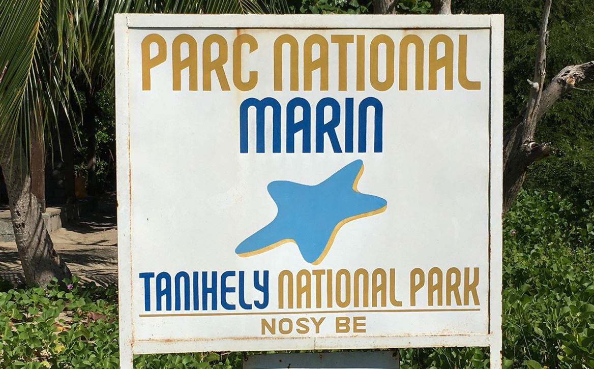 Parc National Marin Nosy Tanikely